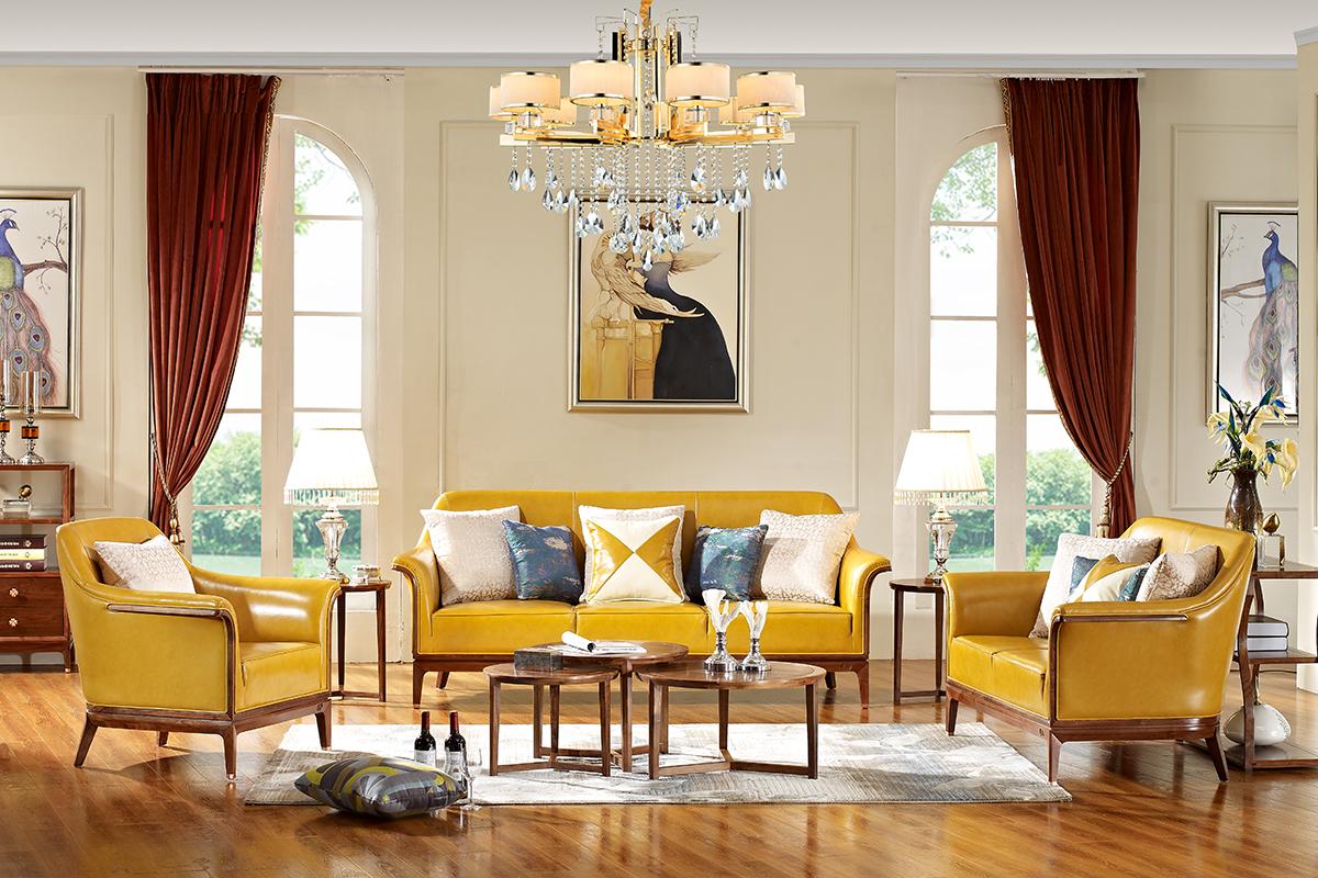 现代欧式家具线条艺术,大美不言【金凯莎卡迪亚】