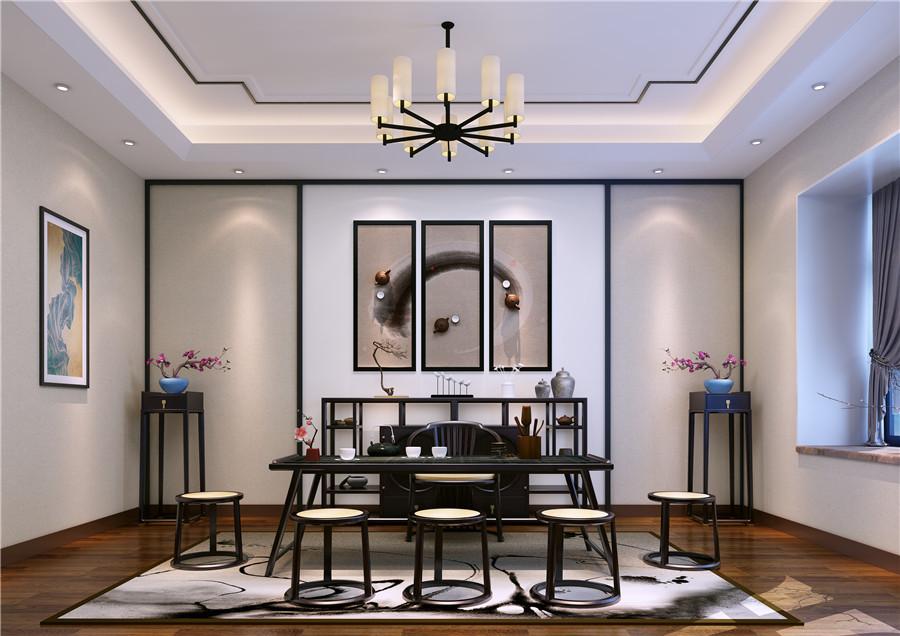 新中式风格 · 大平层 | 在家中,品东方意境