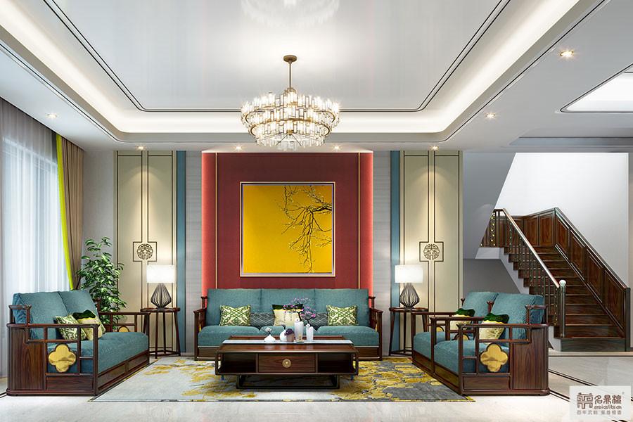 新中式风格 · 别墅 | 逸芳,一览文人情怀
