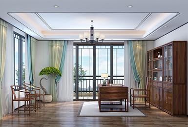 新中式风格 · 别墅 | 演绎清雅闲逸的东方美学