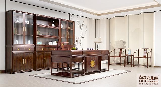 新中式书房:静悟生慧