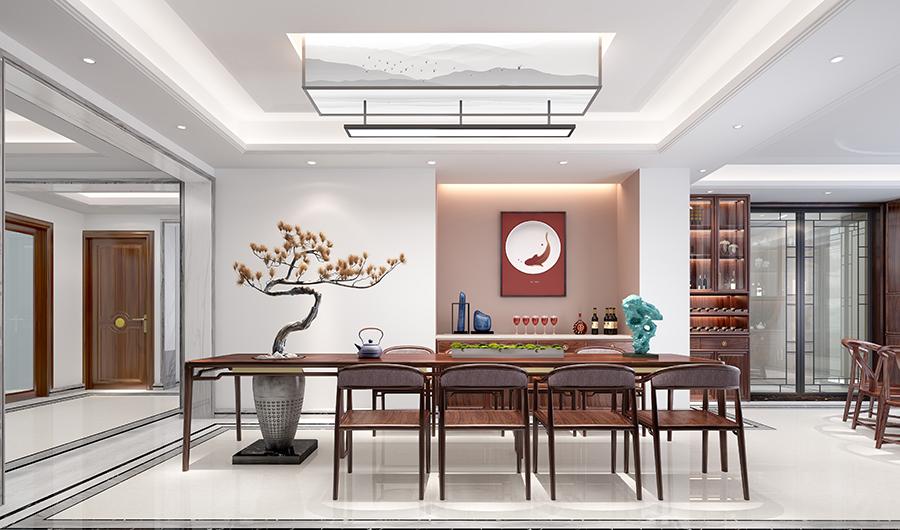 新中式风格 · 别墅   现代文人骨子里的闲与雅