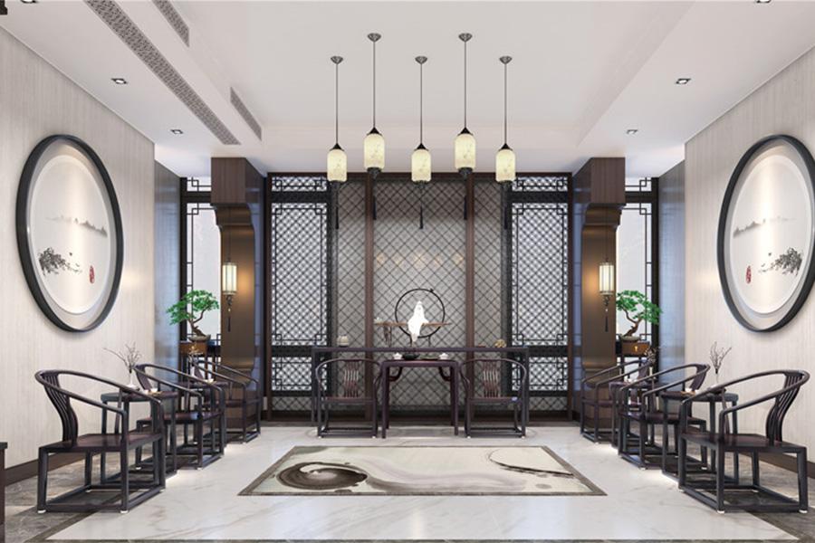新中式风格 · 别墅居家案例:当代君子的极简东方雅