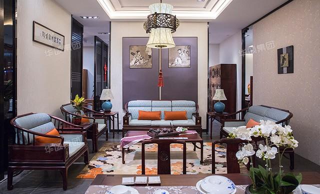 名鼎檀中式红木沙发